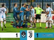 Giana Erminio Juventus 1-1 serie C girone A
