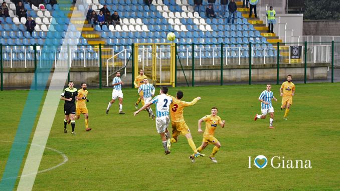 Giana Cittadella 0-1 Assenti per protesta gli Ultras dell Giana - www.ilovegiana.it