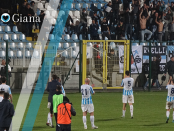 Giana Mantova 0-0 il saluto agli ultras - www.ilovegiana.it