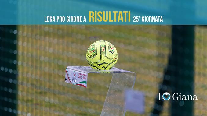 Risultati 25 giornata Lega pro girone a - www.ilovegiana.it
