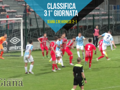 Classifica 31 giornata Lega Pro Girone A Giana Cremonese www.ilovegiana.it