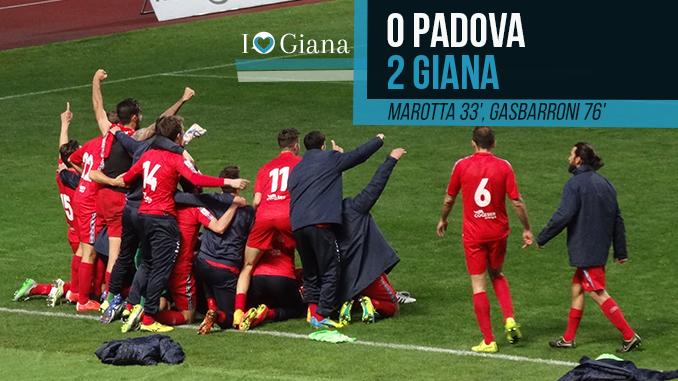 32 giornata Lega Pro Girone A Padova Giana www.ilovegiana.it