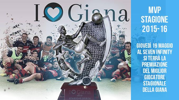 MVP Giana stagione 2015-16