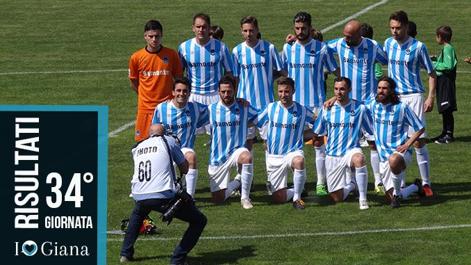 Risultati 34 giornata Lega Pro Girone A www.ilovegiana.it