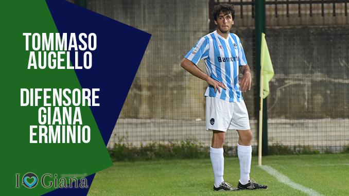 Tommaso Augello difensore Giana erminio lega pro www.ilovegiana.it
