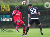 Gullit Okyere Giana Erminio Renate 3-0 www.ilovegiana.it