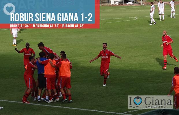Risultato www.ilovegiana.it 2 Robur Siena Giana Erminio 1-2 lega pro girone a