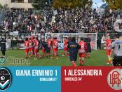 www-ilovegiana-it-lega pro girone a giornata 13-risultato-giana-erminio-alessandria-1-1