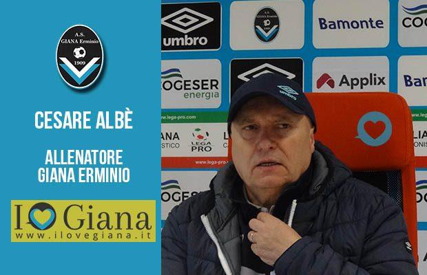 Cesare Albè - All. Giana Erminio