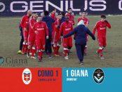 Risultato www.ilovegiana.it 22 Como Giana 1-1
