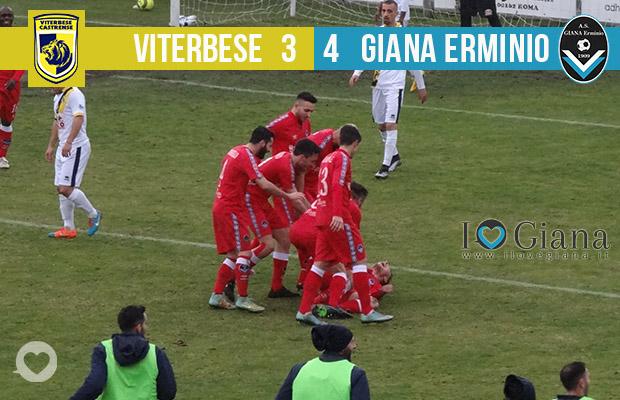 Editoriale 28 giornata lega pro Viterbese Giana 3-4