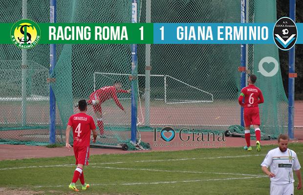 Alessio Iovine Risultato 30 giornata lega pro Racing Roma Giana 1-1