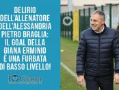 Pietro Braglia allenatore dell'Alessandria