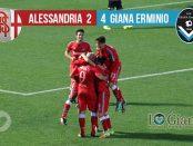 giornata 32 Alessandria Giana Erminio 2-4 lega pro girone a
