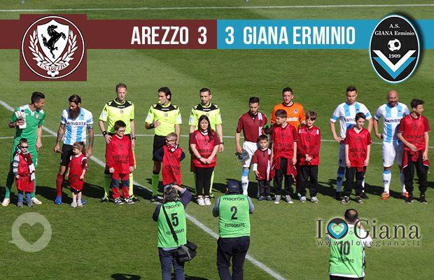 editoriale 34 giornata lega pro girone a Arezzo Giana Erminio 3-3