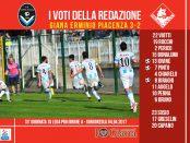 le pagelle 33 giornata lega pro girone a Giana Piacenza 3-2