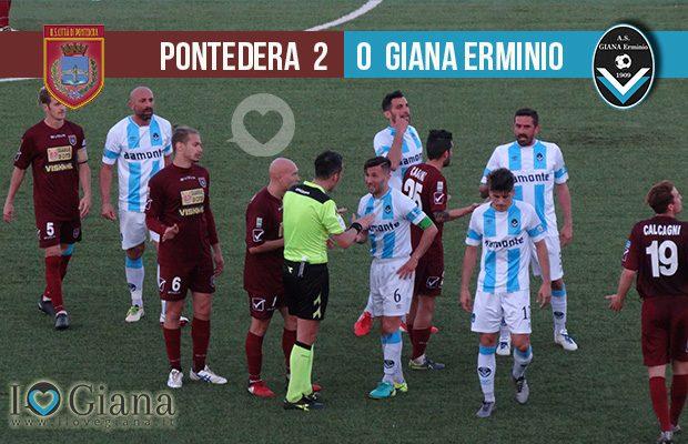 risultati 35 Pontedera Giana Erminio 2-0