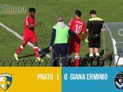 risultati 37 Prato Giana Erminio 1-0