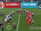 risultato 32 Alessandria Giana Erminio 2-4