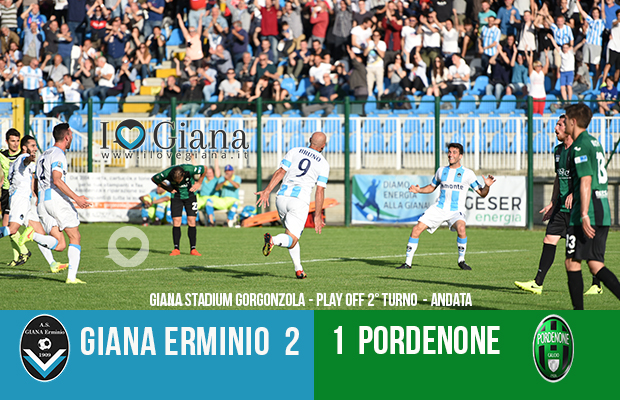 Editoriale 40 play off lega pro 2° turno Giana Erminio Pordenone 2-1