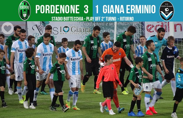 Editoriale 41 play off lega pro 2° turno ritorno Pordenone-Giana 3-1