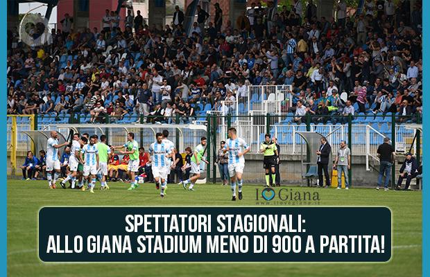 Media Spettatori Giana Erminio Lega Pro Girone A