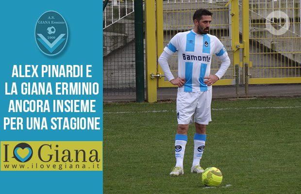 Alex Pinardi Giana erminio Rinnovo contratto