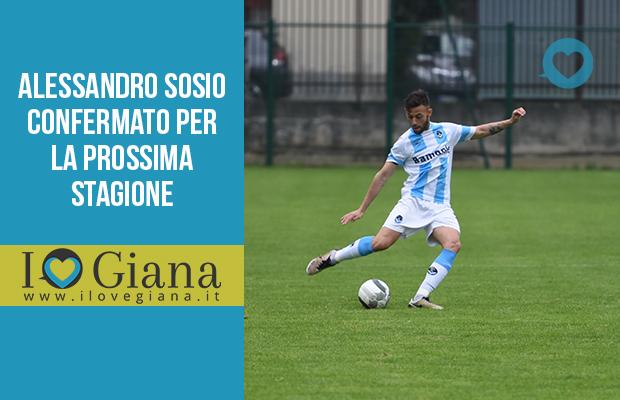 Alessandro Sosio confermato per la prossima stagione