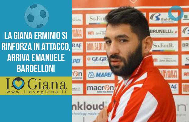 Emanuele Bardelloni nuovo attaccanta Giana erminio