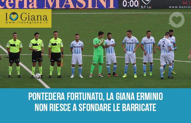 Pontedera Giana 1-1 serie c girone a