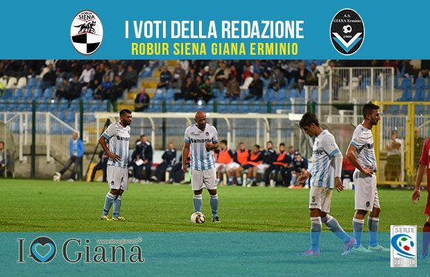 7 giornata Pagelle Robur Siena Giana Erminio