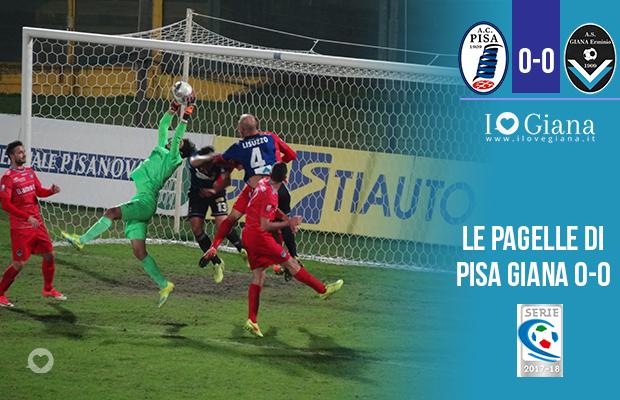 14 giornata Pagelle Pisa Giana Erminio 0-0