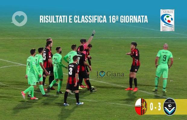 16ª giornata Ris e Class Lucchese Giana Erminio 0-3