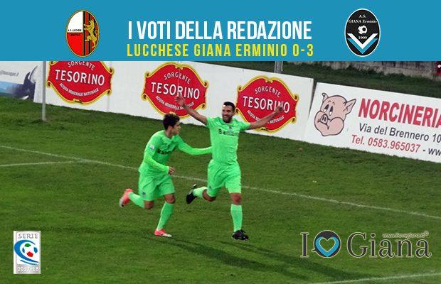 16 giornata Pagelle Lucchese Giana Erminio 0-3