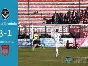 Giana Erminio Pontedera 3-1 22 Giornata