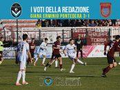 22 giornata Pagelle Giana Pontedera 3-1