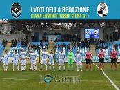 26 giornata Pagelle Giana Siena 0-1