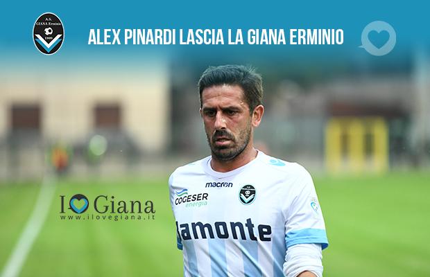 Alex Pinardi lascia la Giana erminio