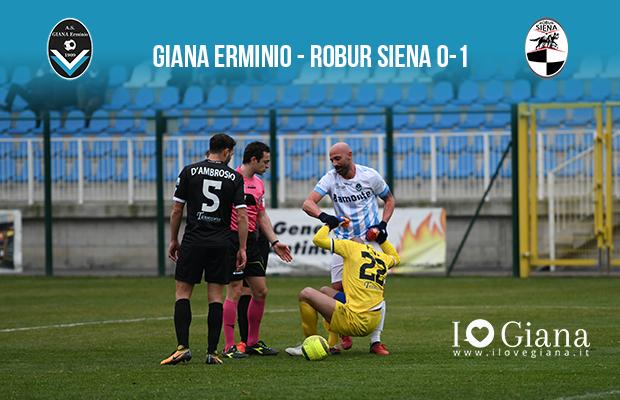 Giana erminio Robur Siena 0-1