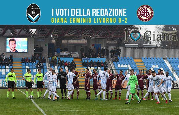 calcio serie c 29 giornata Pagelle Giana Livorno 0-2