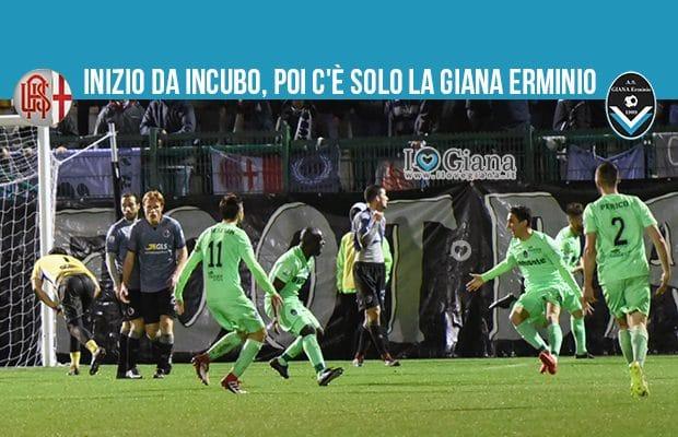 30 giornata serie C girone A Alessandria Giana E 2-2
