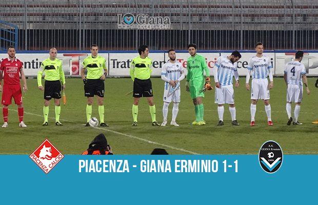 32 giornata serie C girone A Piacenza Giana Erminio 1-1