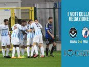 serie c girone a 33 giornata Pagelle Giana Pisa 2-4
