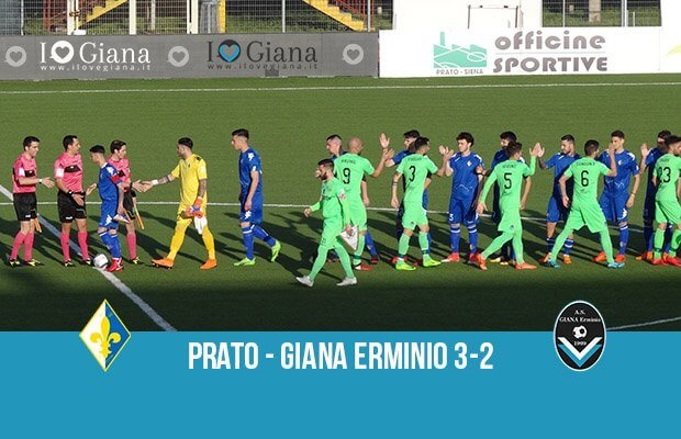 34 giornata serie C Prato Giana Erminio 3-2