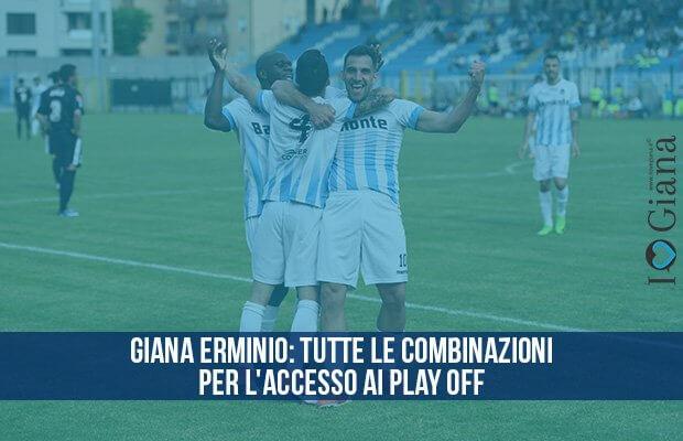Giana Erminio combinazioni accesso play off serie c girone a