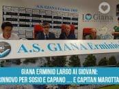 Cesare Albè lascia la panchina della Giana Erminio conf stampa 30_05_18