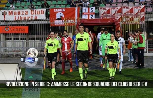 Rivoluzione in Serie C ammesse le seconde squadre dei club di Serie A