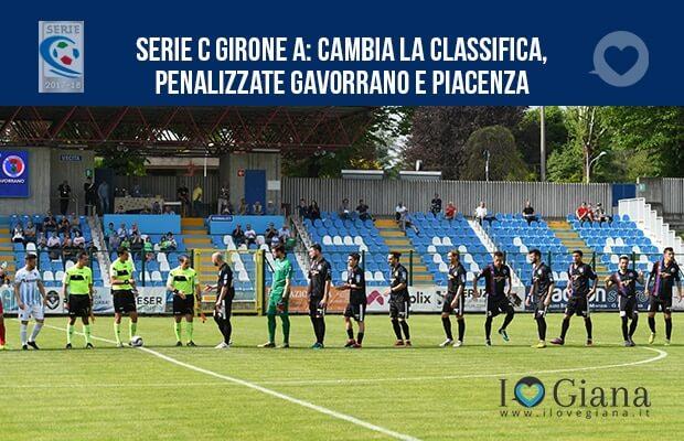 Serie C girone A cambia la classifica, penalizzate Gavorrano e Piacenza