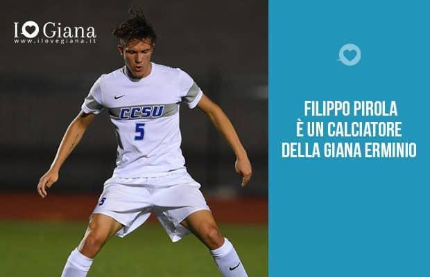 Filippo Pirola calciatore Giana Erminio