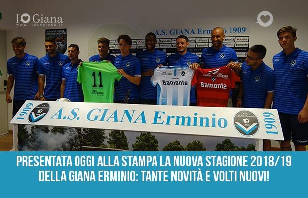 I 10 nuovi giocatori della Giana Erminio